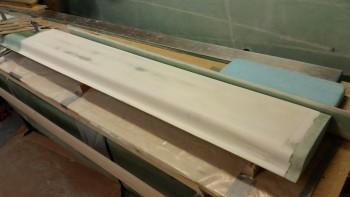 Canard primer finish sanded