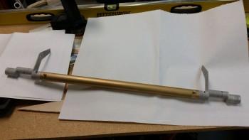 Spool tube & bell horns bolts installed