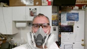 Me . . . at work!