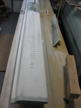 L-side high ridge identified & marked