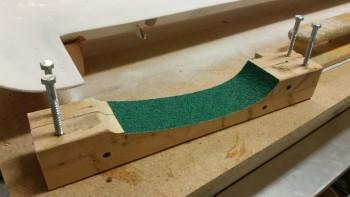 Loading contour sanding block
