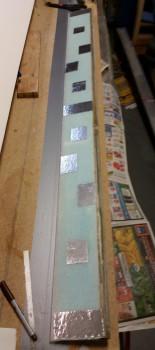 Foil taped elevator bottom