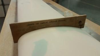 Checking left side contour