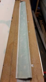 Ready to remove glass & foam