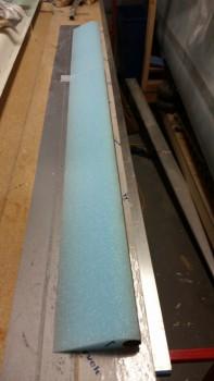Foam core micro'd to elevator tube
