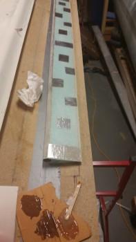5-min glue application on foil tape