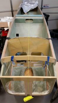 Stringing fuselage CL
