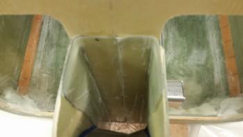 Interior NG30 BID tape layups