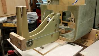 Mounting NG30 nose assembly