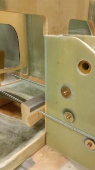 Ext BID tape - peel ply pulled