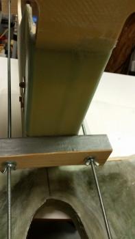 Exterior BID tapes - peel ply pulled