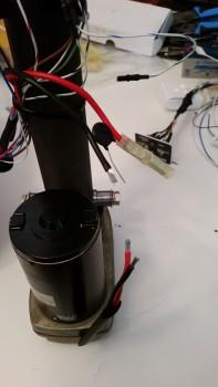 Fixing motor wiring
