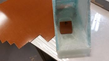 Checking phenolic insert fit