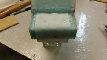 Embedded peel ply