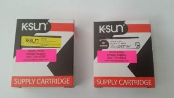 Shrink tube labels arrived