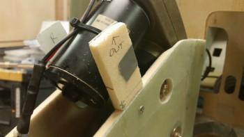 Left NG30 mounting tab