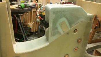 NG30 forward cut & sanded to fit