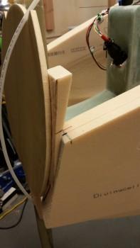 Left sidewall wedge filler