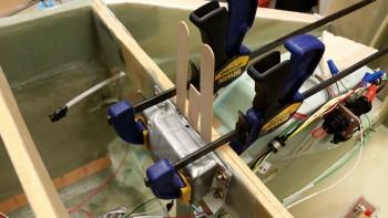 Voltage Reg Clickbond mounting