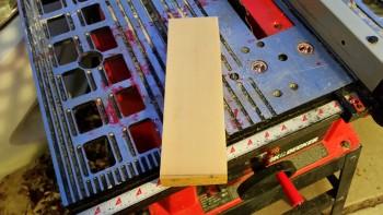 "H100 foam cut to 3"" width"