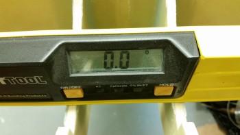 Battery mount angle