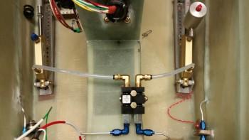 Parking brake to master cylinder tubes