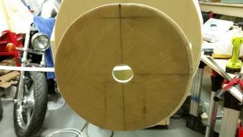 Middle pitot tube hole widened