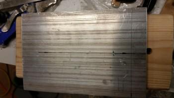 Marking Skid Plate for Bumper Mount