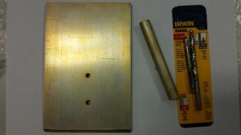 Skid plate & Battery mount tube Alodined
