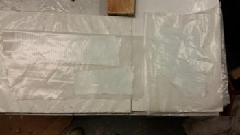 Prepreg setup for R-side BID tapes