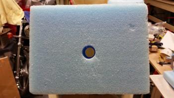 Front foam nose block