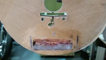 Floxing taxi light hinge mount screws