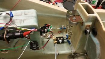 Brake reservoirs mounted