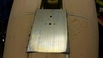 Skid plate corners shaped