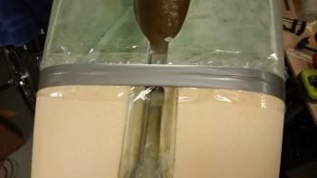 F22 gap H250 foam strips floxed & taped