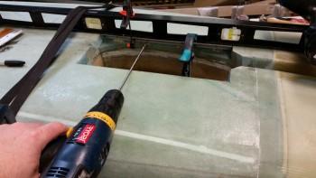 Drilling screw holes into phenolic