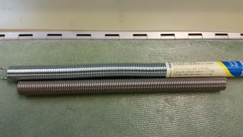 Comparison of springs