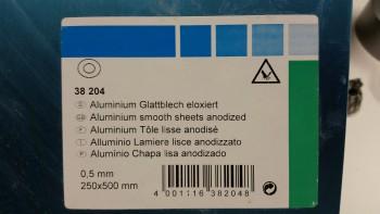 Taxi light door bracket backing aluminum
