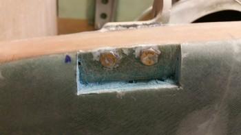 Left side gear mount foam & micro trimmed