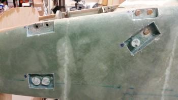 Left side washer swap progress