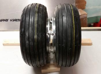 Both tires & tubes mounted