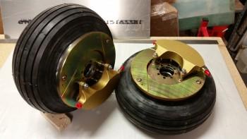 Wheels, brakes & tires
