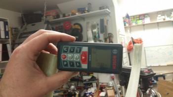Measuring gear strut alignment