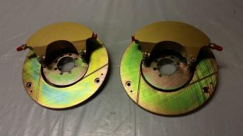 Wheel brake assemblies