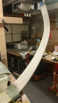 Final sanding of Gear Legs