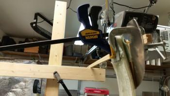 Setting toe-in left gear