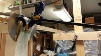 Setting toe-in right gear