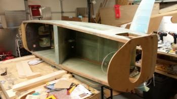Flipping fuselage