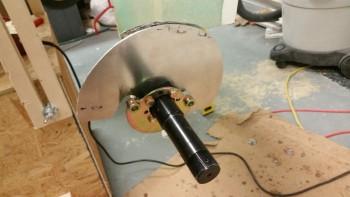Left brake mount installed incorrectly