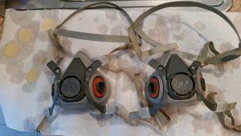 Cleaning respirators